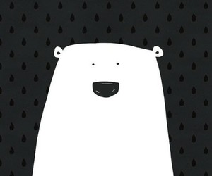 bear, wallpaper, and white image