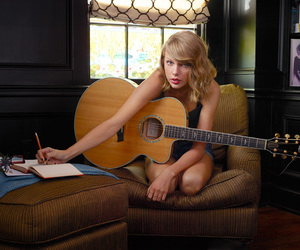 guitar, taylor, and cute image