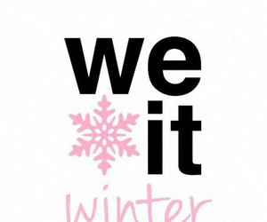 winter, christmas, and we heart it image