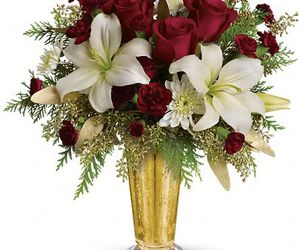white asiatic lilies image