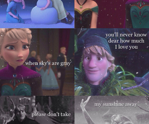frozen, mine, and olaf image