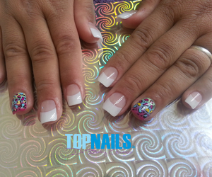 pretty, nailart, and style image