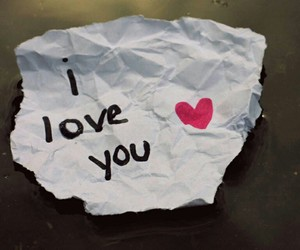 love, I Love You, and heart image