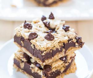 chocolate, food, and brownie image