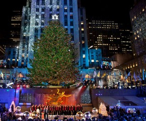 christmas in new york image