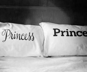 princess, prince, and bed image