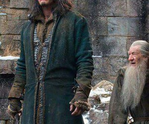 luke evans, the hobbit, and bard image