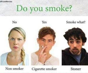 funny, smoke, and cigarette image
