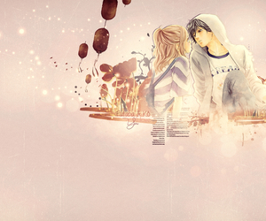 anime, love story, and manga image