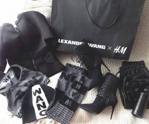 fashion, alexander wang, and H&M image