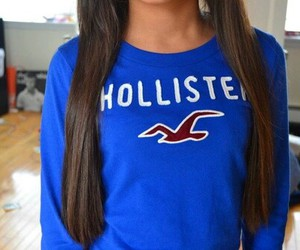hollister, hair, and pretty image