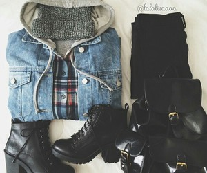 fashion, outfit, and styles image