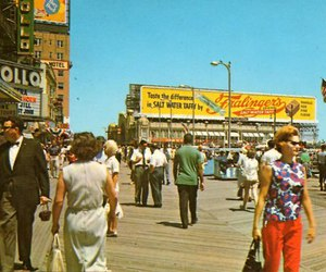1950's, boardwalk, and 1950s image