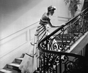 fashion, dior, and 1950s image