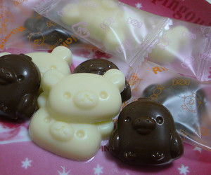chocolate, kawaii, and yummy image
