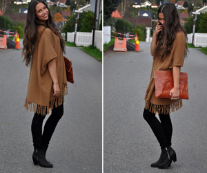 cape, hair, and fashion image