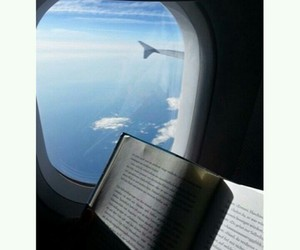 chill, book, and fly image