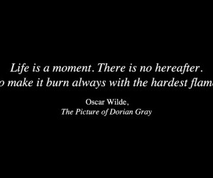 black, dorian gray, and flame image