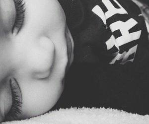 black and white, cute baby, and tumblr image