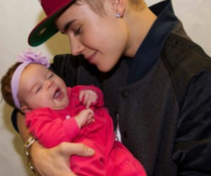 baby, beautiful, and belieber image