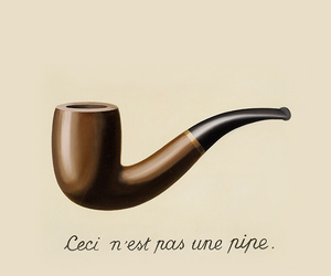 draw, quote, and rene magritte image