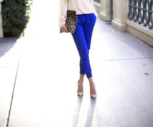 blue and outfit image