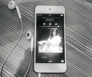 music, ultraviolence, and lana del rey image