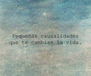 frases, vida, and casualidades image