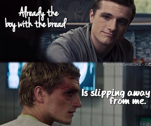 part 1, hunger games, and peeta image
