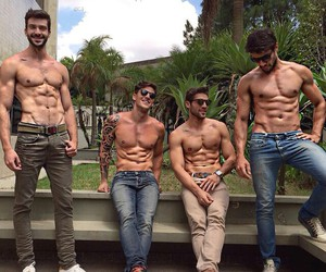 fit, Hot, and men image