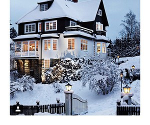 christmas, luxe, and house image
