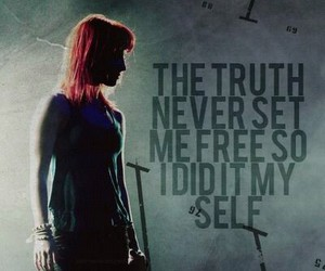 paramore, hayley williams, and truth image