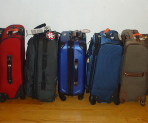 luggage and vacations image