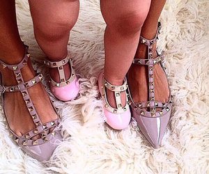 baby, shoes, and Valentino image