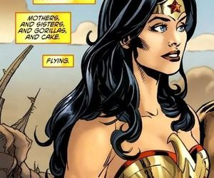 diana of themyscira, wonder woman, and dc comics image