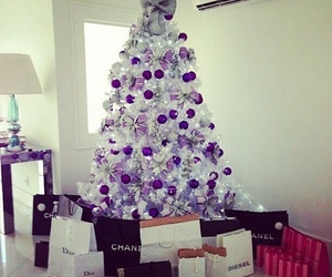 christmas, chanel, and dior image