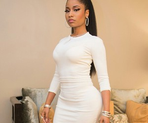 nicki minaj, white, and nicki image