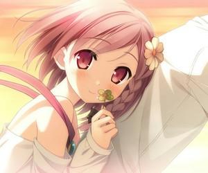 anime girl, anime kiss, and anime cute image