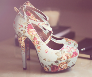 floral and heels image