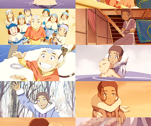 anime, avatar, and aang image