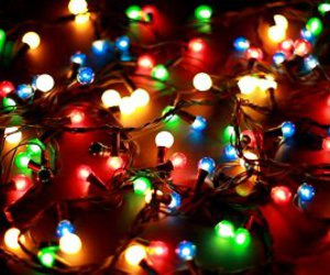 christmas, lights, and holiday image