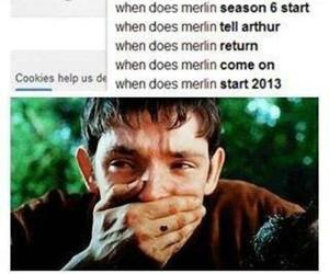 arthur, merlin, and return image