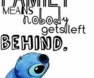 disney, quote, and stich image