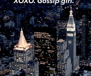 gossip girl, new york, and xoxo image