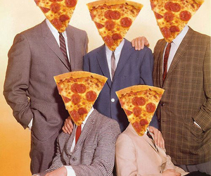 pizza, family, and food image