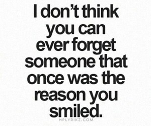 forget, smile, and love image