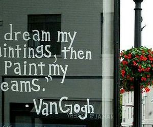 dreams, inspiration, and paintings image