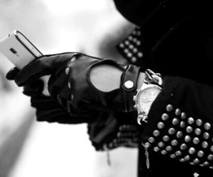 fashion, gloves, and style image