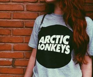 redhead, tumblr, and arctic monkeys t shirt image