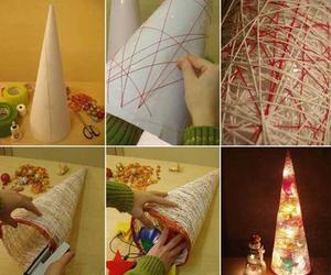 diy, christmas, and light image